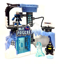Fisher Price pre escolar IMAGINEXT Batman Figura el señor congelar & Artic Playset Raro