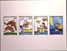 NEW CALEDONIA NEUKALEDONIEN 1992 947-50 DELUXE Comicfiguren Comic Zeichentrick