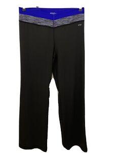 VSX Sexy Sport Victoria's Secret Womens Pants Size L Short Supermodel Black Pant