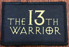 The 13th Warrior Movie Morale Patch  Tactical Military Army Badge Hook Flag USA