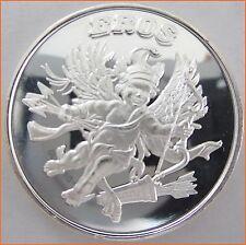 "1 oz .999 Silver ""Eros Mythological Legends"" Art Round/Bar 7139"