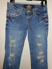 CHRISTIAN AUDIGIER DISTRESSED JEANS, SIZE 28/33 LIMITED EDITION
