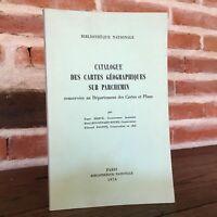 Catálogo Las Folios Marca Geographical En Pergamino Biblioteca Nacional 1974