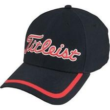 2c1fe065ff508 TITLEIST GOLF CAP - Red and Black TPU Performance Fitted Hat L XL Size