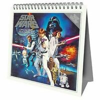 Star Wars Classic Desk Easel 2020 Calendar Page-a-Month Tent