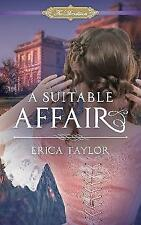 Suitable Affair (Macalisters) by Erica Taylor | Paperback Book | 9781944995157 |