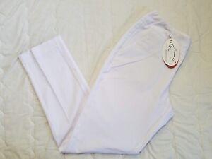 1 NWT GREG NORMAN WOMEN'S PANTS, SIZE: 6, COLOR: WHITE (J117)