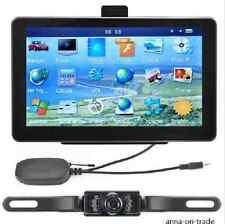 7 inch Car GPS Navigation Rear View Monitors Wireless reversing Camera Kits