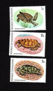 Maldives  MNH Turtles MNH SC 841-843