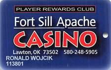 Fort Sill Apache Casino - Lawton, Ok - Slot Card