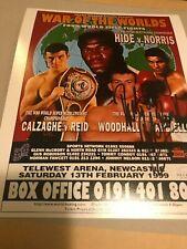 Robin Reid Signed Photo. Boxing Memorabilia Autograph