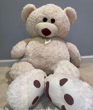 """40"""" Hugfun Teddy Bear Soft Plush Stuffed Animal-White"""