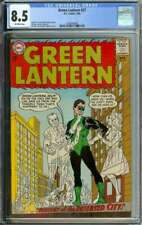 GREEN LANTERN #27 CGC 8.5 OW PAGES // GIL KANE + MURPHY ANDERSON COVER