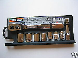 Snap ON tools Harley Davidson 9 piece socket Ratchet set Sportster FLH Road King