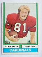 Jackie Smith #485 Topps 1974 Football Card (St Louis Cardinals) VG