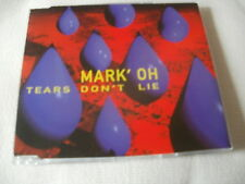 MARK'OH - TEARS DON'T LIE - OLD SKOOL DANCE CD SINGLE - MARK OH