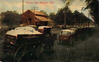 Postcard Cotton Gin in Marion, Alabama~122069