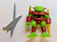 BATTLE BEASTS #7 HORNY TOAD SERIES 1 COMPLETE HASBRO