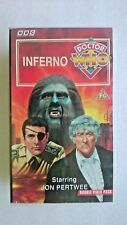 Doctor Who - Inferno (VHS, 1994, 2-Tape Set) - Jon Pertwee
