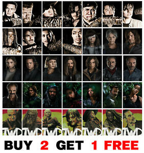 The Walking Dead Poster TV Show Series AMC Promo Art Print Home Room Decor p2