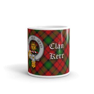 Kerr Clan Crest Coffee / Tea Mug - Scottish Cup 10oz / 295ml