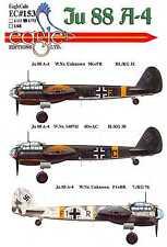 EagleCals Decals 1/72 JUNKERS Ju-88A-4 German Bomber