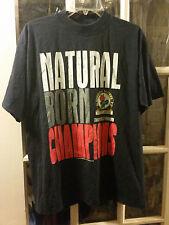 VINTAGE Blackburn Rovers Football Club Natural Born Champions Tee Shirt Adult L