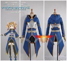 Sword Art Online Ⅱ Phantom Bullet Silica/Keiko Ayano Cosplay Costume Any Size