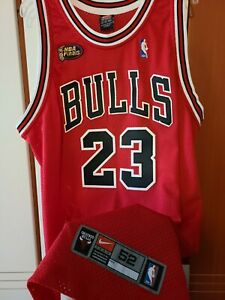 Michael Jordan 1997-98 Chicago Bulls Nike NBA Finals Authentic Jersey READ