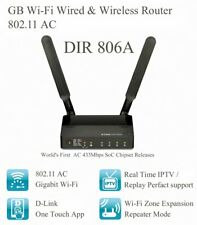 D-Link Dir-806A Wired & Wireless Router , 802.11Ac , 433Mbps Wifi , 220V