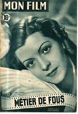 revue cine MON FILM N°127 lisette lanvin  glenn langan