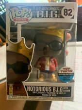 Funko Pop! Rocks Notorious B.I.G. With Crown Toy Tokyo 82 2018 Comic Con Exclusi