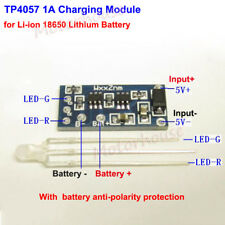 TP4057 1A 1S Li-ion 18650 3.7V Lithium Battery Charging Board LED Charger Module