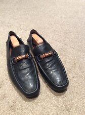 Gucci Men's Black Driving Shoes Size UK 9.5