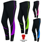 Ladies Cycling Tights Padded Women Legging Cycle Trousers Cold Wear Pants