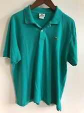 LACOSTE TURQUOISE POLO WITH CROC SIZE 6 MEDIUM
