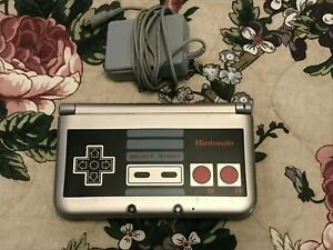 Nintendo 3DS XL NES Edition Console With Power Supply No Stylus Included