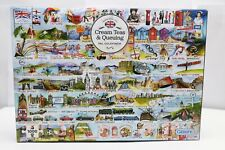 Gibsons Cream Tea & Queuing Jigsaw Puzzle 1000 pieces