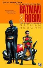 BATMAN & ROBIN: BATMAN REBORN / HC / DC Comics / New Factory Sealed