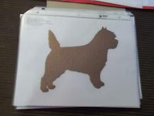 Cairn Terrier Car Magnet Hand Cut and Painted You pick style color