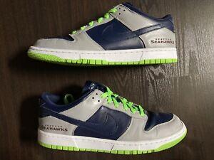 Nike Dunk low ID Seattle Seahawks size 12