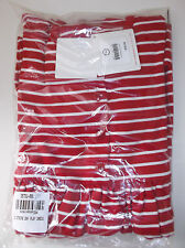 Hanna Andersson Girls 140 Long Sleeve Playdress Daydress NWT Apple Red Soft Whit