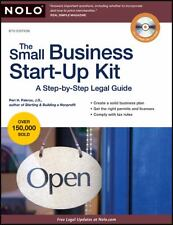 The Small Business Start-Up Kit: A Step-by-Step Legal Guide, Pakroo J.D., Peri H