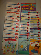 34 SCHOLASTIC AT-HOME PHONICS SCHOOL WORKBOOKS READING WRITING SPELLING BOOK