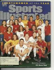 1999 Sports Illustrated Magazine December 20th U.S. Womens Soccer Team