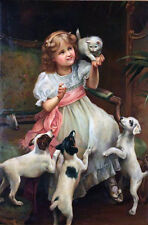 Out of Reach   by  Arthur Elsley  Giclee Canvas Print Repro
