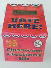 CLASSROOM ELECTIONS KIT - Election Book, Ballots, Stickers, Buttons