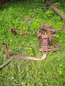 International Sickle Mower, red, Used, sickle, mower, tractor, tractor supply
