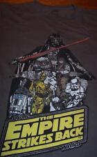 Star Wars The Empire Strikes Back T-Shirt Large Boba Fett Darth Vader