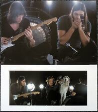 PINK FLOYD POSTER PAGE 1971 PARIS ROGER WATERS & DAVID GILMOUR .R35